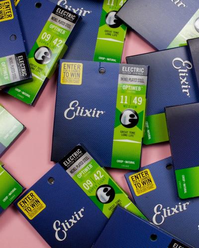 Elixir Optiweb — лучшие струны с покрытием